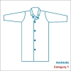 Labcoat with snaps, Category 1